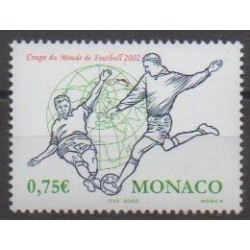 Monaco - 2002 - No 2350 - Coupe du monde de football
