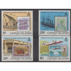 Cayman ( Islands) - 1989 - Nb 634/637 - Stamps on stamps