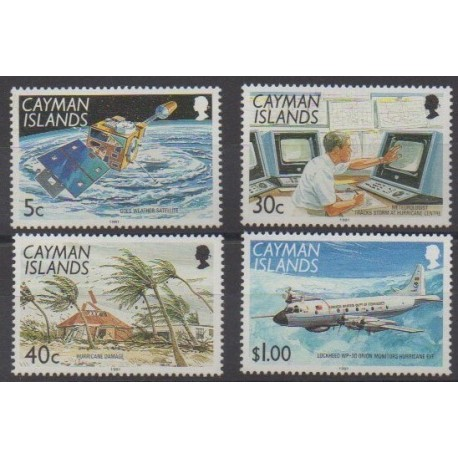 Caïmans (Iles) - 1991 - No 670/673 - Environnement