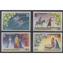 Caïmans (Iles) - 1991 - No 674/677 - Noël