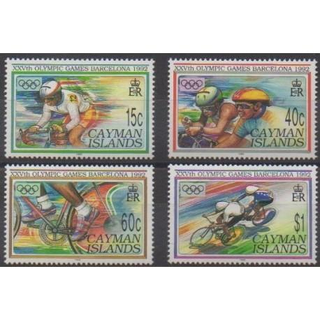 Caïmans (Iles) - 1992 - No 695/698 - Jeux Olympiques d'été