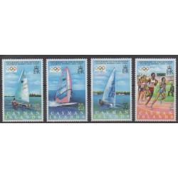 Caïmans (Iles) - 1996 - No 767/770 - Jeux Olympiques d'été