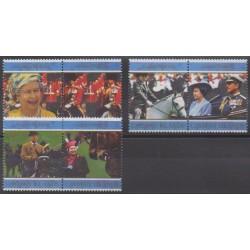 Caïmans (Iles) - 1997 - No 787/792 - Royauté - Principauté