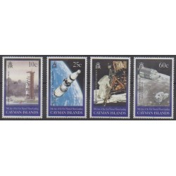 Cayman ( Islands) - 1999 - Nb 826/829 - Space