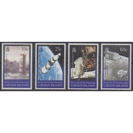 Caïmans (Iles) - 1999 - No 826/829 - Espace
