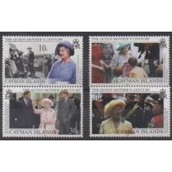 Caïmans (Iles) - 1999 - No 830/833 - Royauté - Principauté