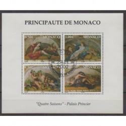 Monaco - Blocs et feuillets - 2002 - No BF87 - Peinture - Oblitéré
