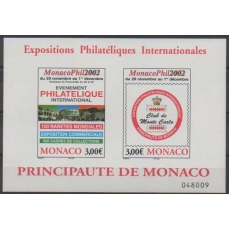 Monaco - Blocs et feuillets - 2002 - No BF88 - Philatélie