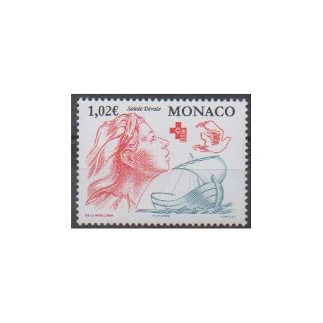 Monaco - 2002 - No 2354 - Santé ou Croix-Rouge - Religion