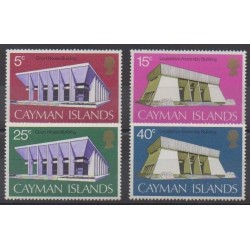 Cayman ( Islands) - 1972 - Nb 302/305 - Monuments