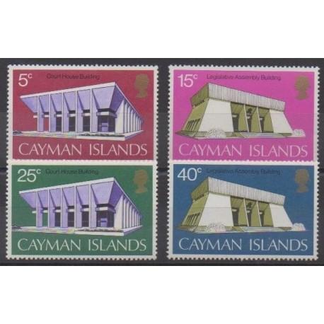 Caïmans (Iles) - 1972 - No 302/305 - Monuments