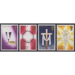 Caïmans (Iles) - 1981 - No 470/473 - Pâques