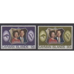 Cayman ( Islands) - 1972 - Nb 306/307 - Royalty