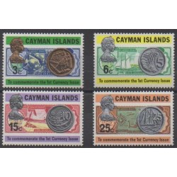 Cayman ( Islands) - 1973 - Nb 308/311 - Coins, Banknotes Or Medals