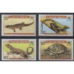 Cayman ( Islands) - 1981 - Nb 474/477 - Reptils
