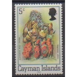 Cayman ( Islands) - 1984 - Nb 534 - Sea animals
