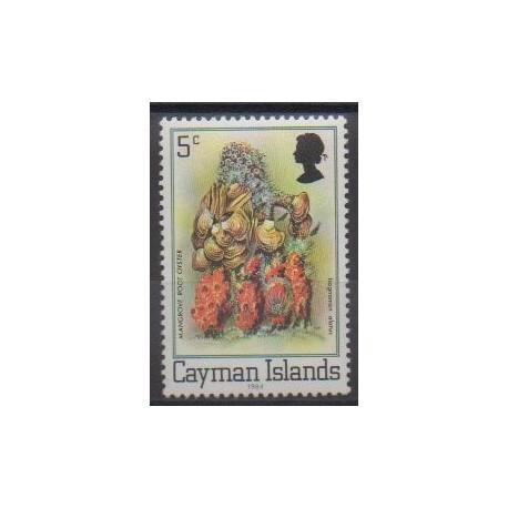 Caïmans (Iles) - 1984 - No 534 - Animaux marins