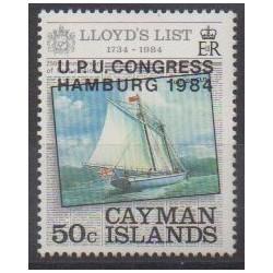 Caïmans (Iles) - 1984 - No 533 - Service postal