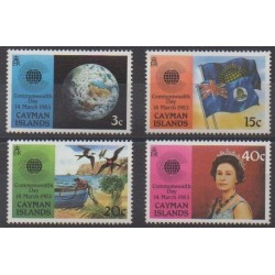 Cayman ( Islands) - 1983 - Nb 517/520 - Various Historics Themes