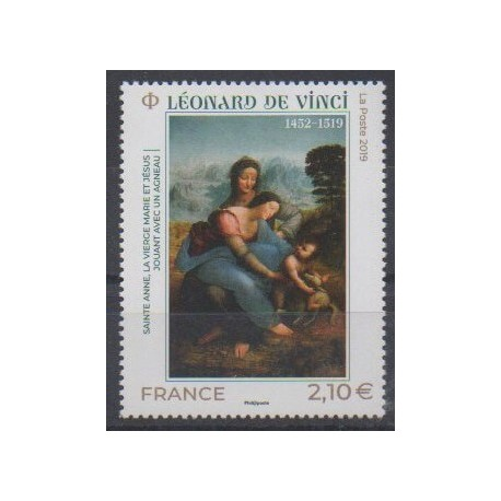 France - Poste - 2019 - No 5355 - Peinture
