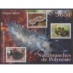 Polynesia - Blocks and sheets - 2012 - Nb BF38 - Sea animals
