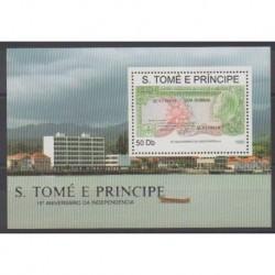 Saint-Thomas et Prince - 1991 - No BF96 - Monnaies, billets ou médailles