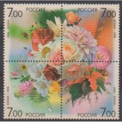 Russie - 2006 - No 6950/6953 - Fleurs