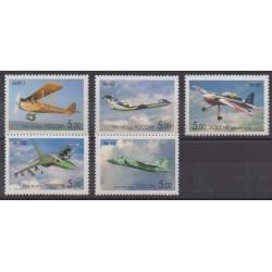 Russie - 2006 - No 6935/6939 - Aviation