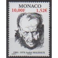 Monaco - 2001 - No 2301 - Littérature