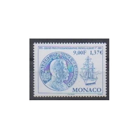 Monaco - 2001 - No 2307 - Sciences et Techniques