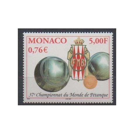 Monaco - 2001 - No 2303 - Sports divers