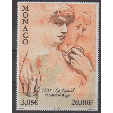 Monaco - 2001 - No 2309 - Art