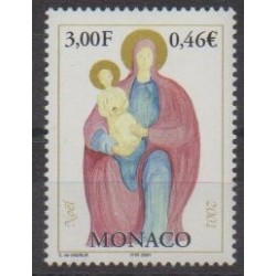 Monaco - 2001 - No 2317 - Religion