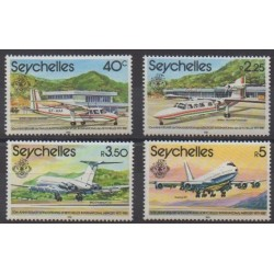 Seychelles - 1981 - Nb 481/484 - Planes