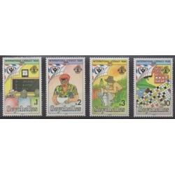 Seychelles - 1990 - Nb 720/723