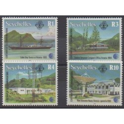 Seychelles - 1993 - Nb 776/779 - Telecommunications