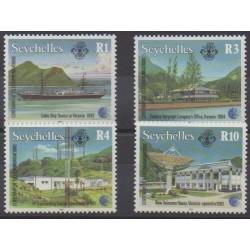 Seychelles - 1993 - No 776/779 - Télécommunications