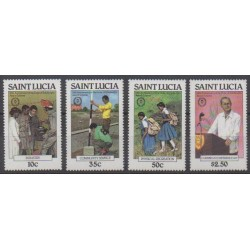 St. Lucia - 1981 - Nb 540/543
