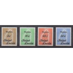 St. Lucia - 1987 - Nb 852/855