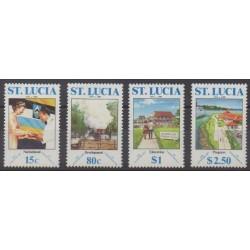 Sainte-Lucie - 1989 - No 919/922