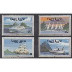 Sainte-Lucie - 1991 - No 965/968 - Navigation