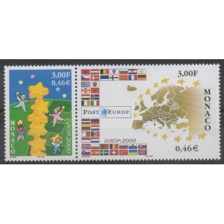 Monaco - 2000 - No 2248/2249 - Europa