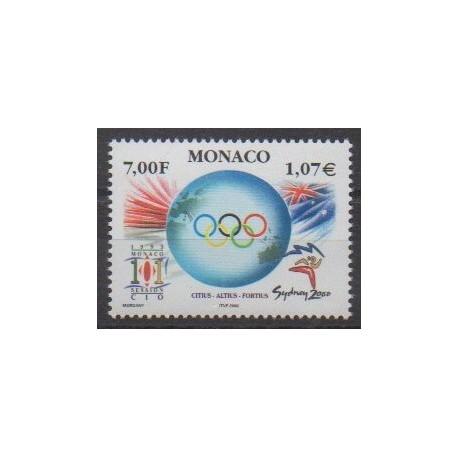 Monaco - 2000 - No 2239 - Jeux Olympiques d'été