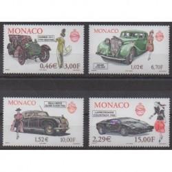 Monaco - 2000 - No 2257/2260 - Voitures