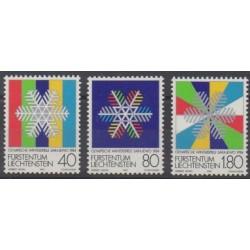 Lienchtentein - 1983 - Nb 775/777 - Winter Olympics