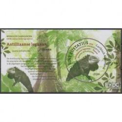 Caribbean Netherlands - Statia - 2017 - Nb BF2 - Reptils - Endangered species - WWF