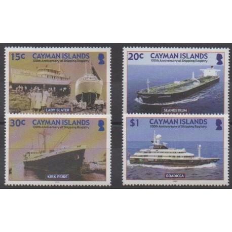 Caïmans (Iles) - 2004 - No 961/964 - Navigation