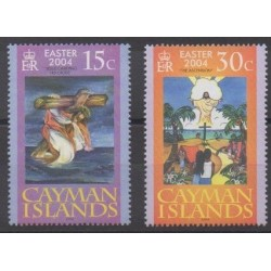 Cayman ( Islands) - 2004 - Nb 965/966 - Easter
