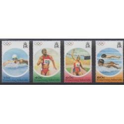 Caïmans (Iles) - 2004 - No 967/970 - Jeux Olympiques d'été