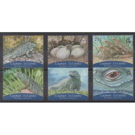 Caïmans (Iles) - 2004 - No 971/976 - Reptiles